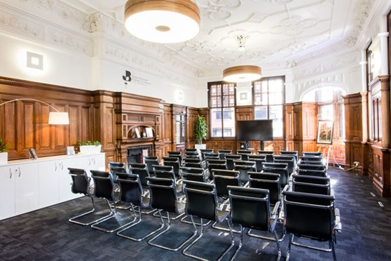 The Boardroom, theatre style, Greater Manchester Chamber of Commerce