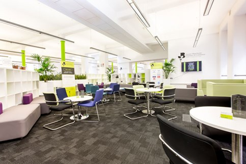 Members' lounge, Greater Manchester Chamber of Commerce